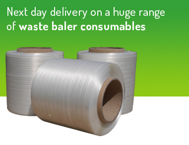 Next day delivery on a huge range of waste baler consumables