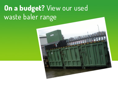 on a budget? view our used waste baler range