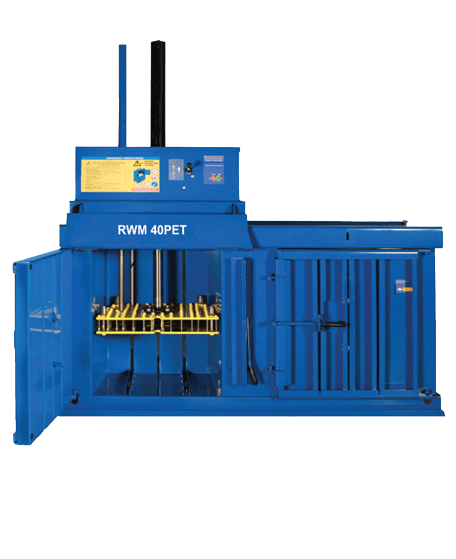 RWM 40 PET Compact Waste Baler