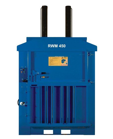 Cost-effective heavy duty plastic baler – RWM 450HD