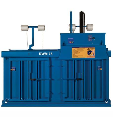 RWM 75 Multi Chamber Waste Baler