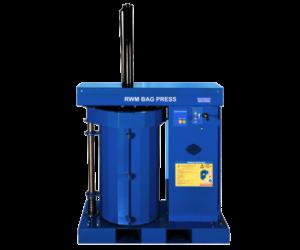 Riverside Waste Machinery's bag press