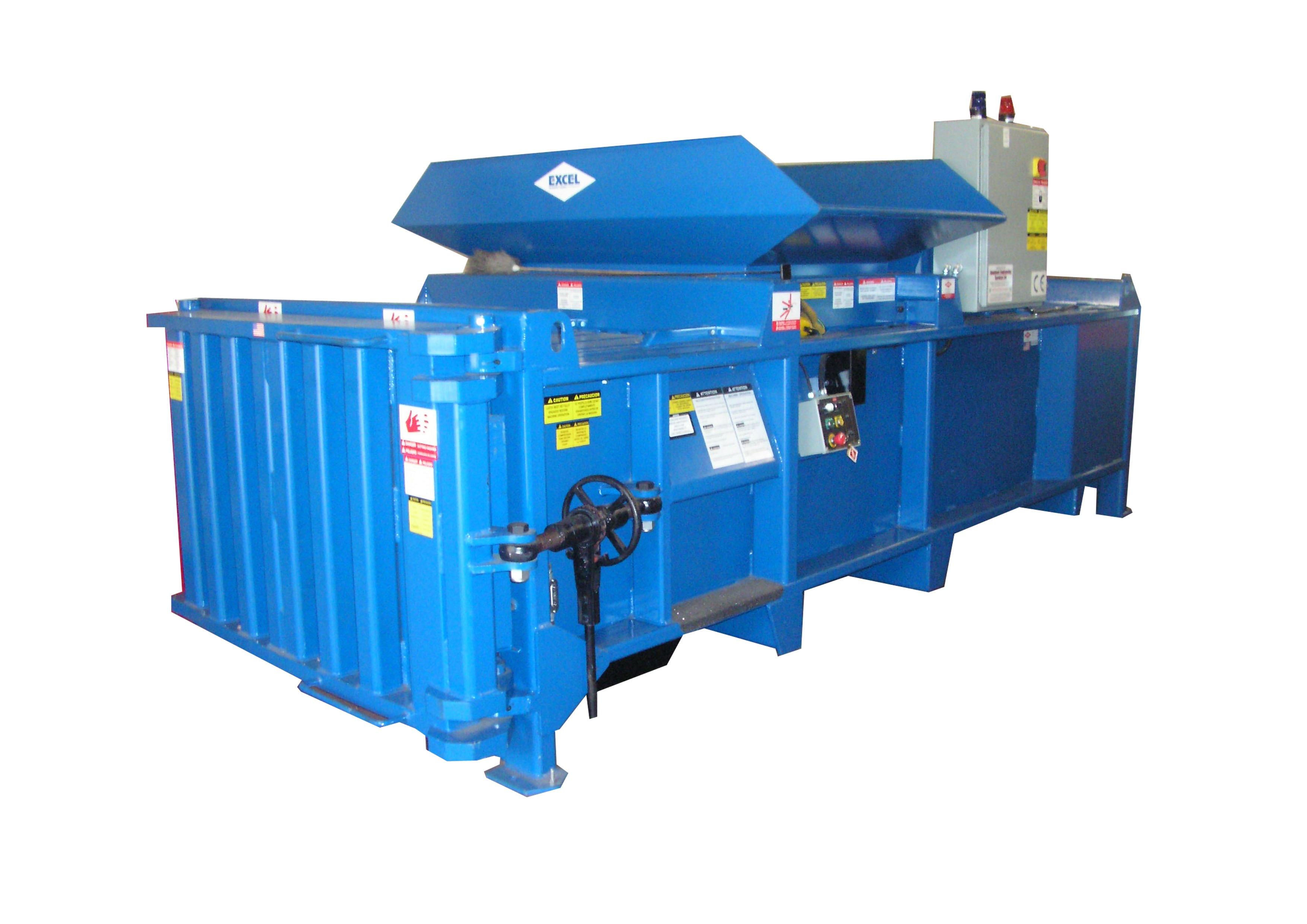 EX 62 horizontal waste baler