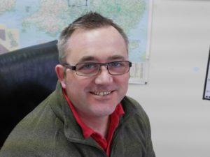 Riverside Waste Machinery's service manager Barry