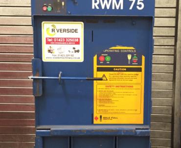 Used RWM 75 compact baler