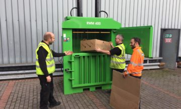 Riverside Waste Machinery - baler operator training