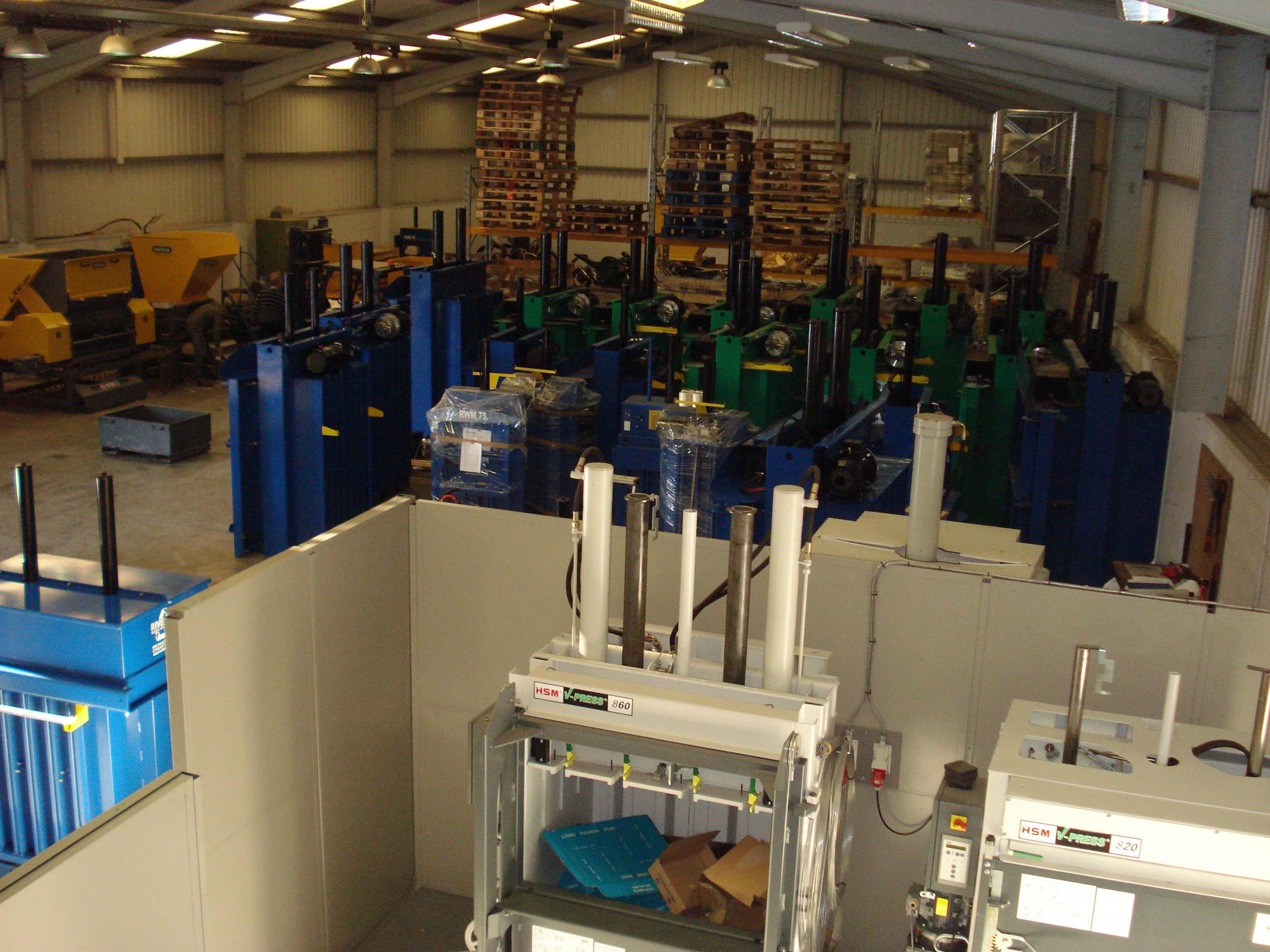 Riverside Waste Machinery - waste baler specialist