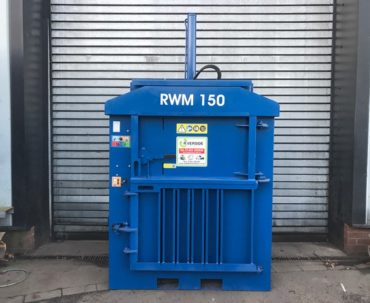 Refurbished waste baler for sale - RWM150 used baler