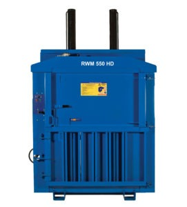 RWM 550 - heavy duty waste baler