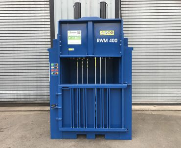 RWM 400 mill size waste baler for sale