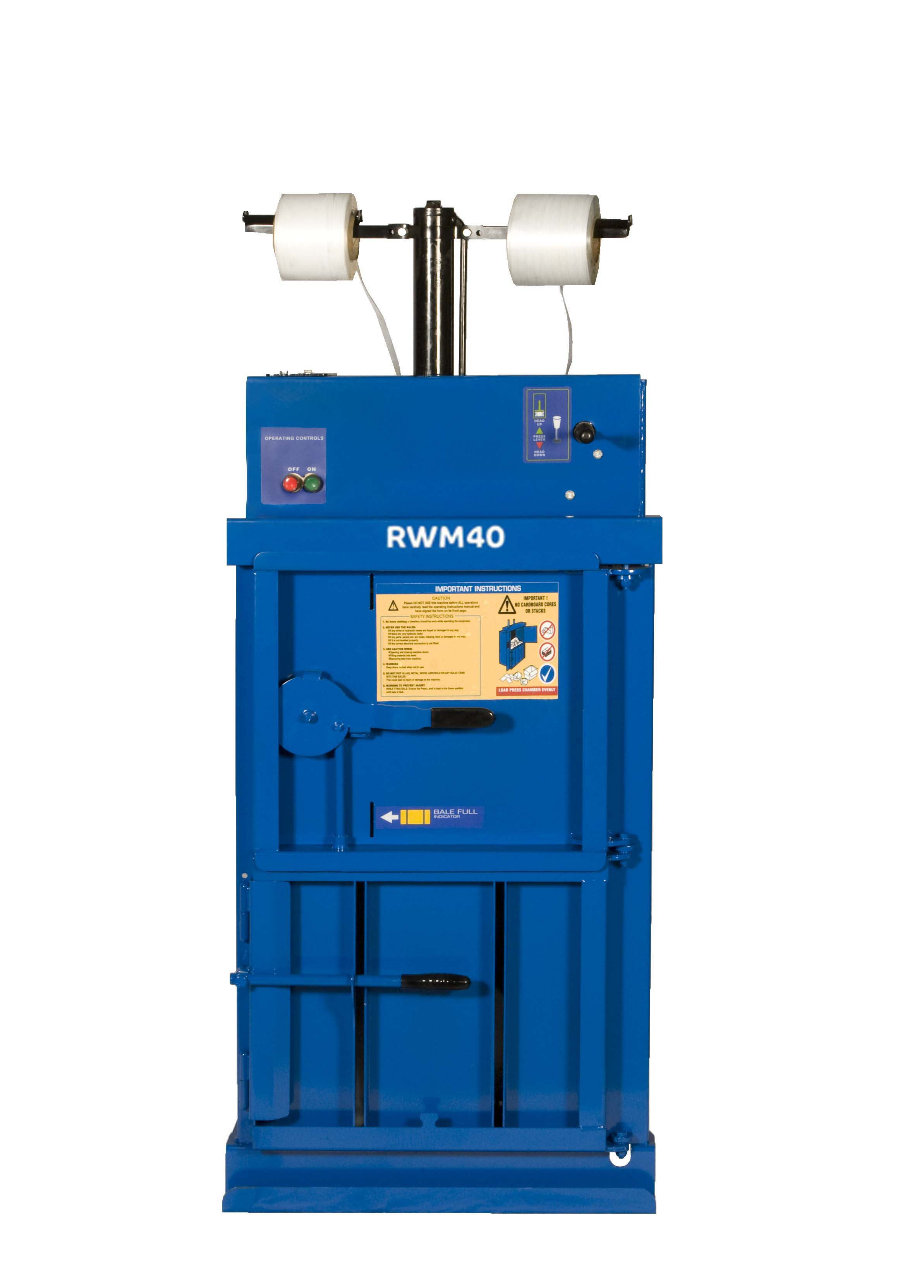 Riverside waste baler supplied in kit-form jigsaw