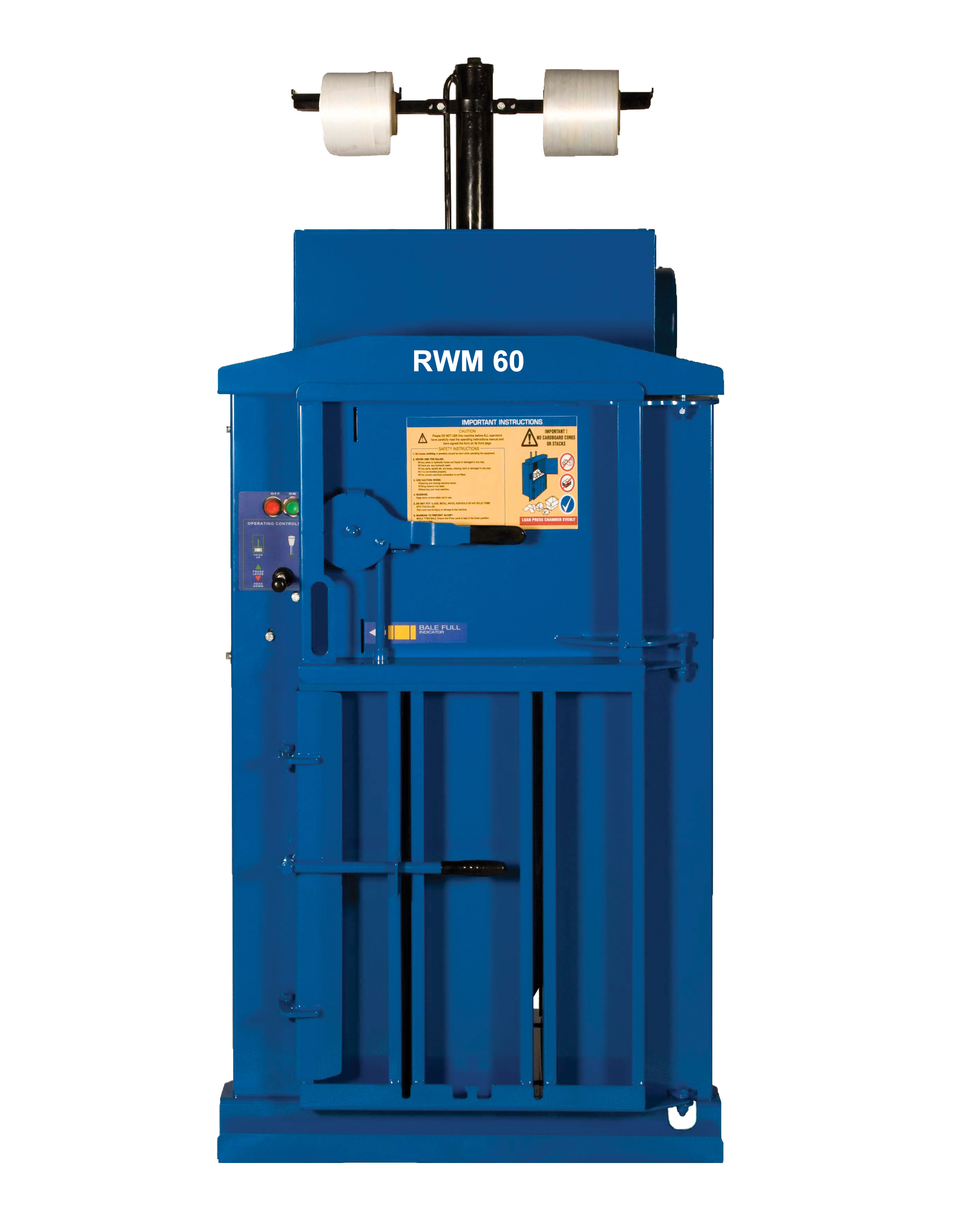 Waste baler of the month - RWM60