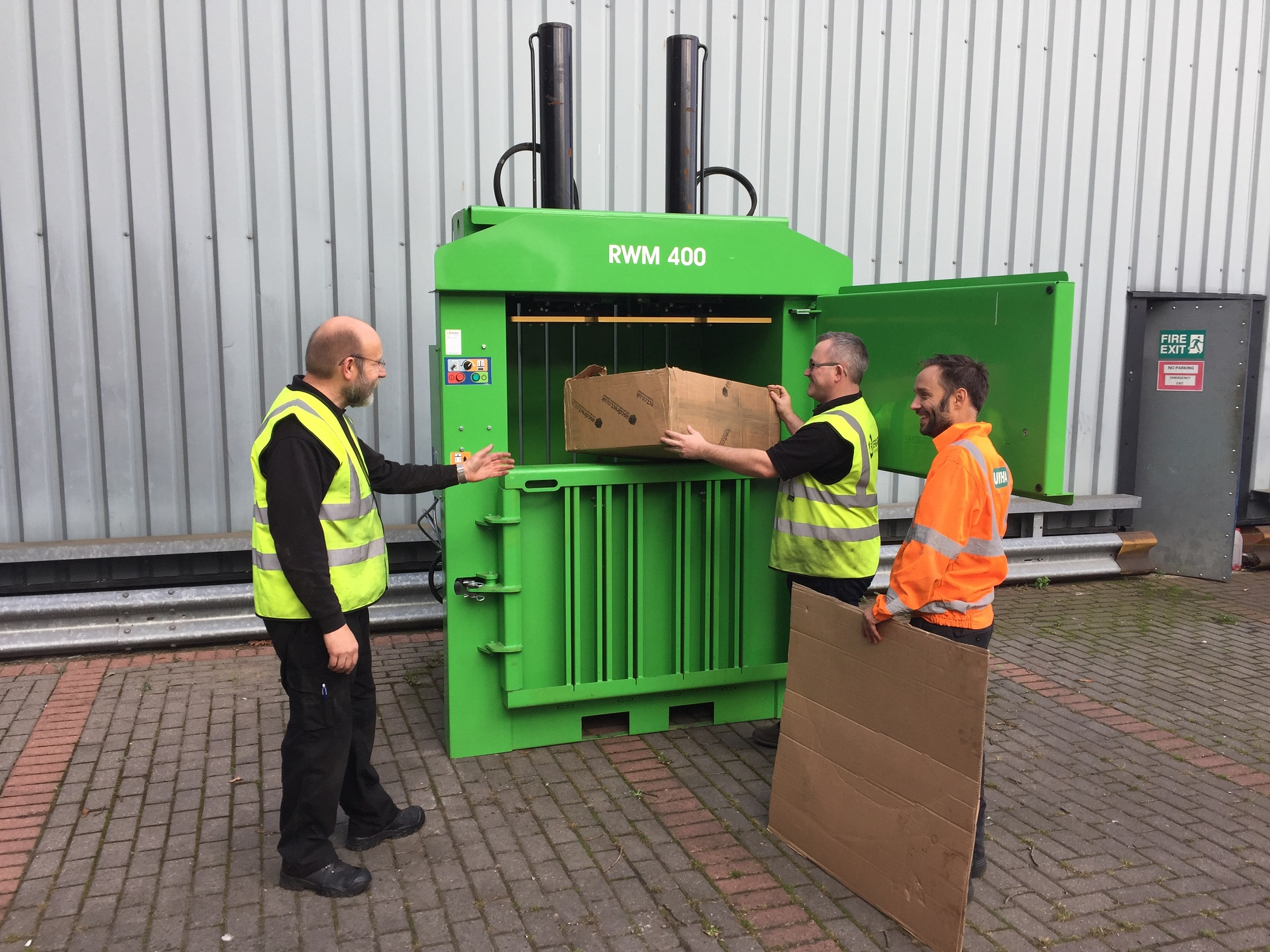 Book a waste baler trial