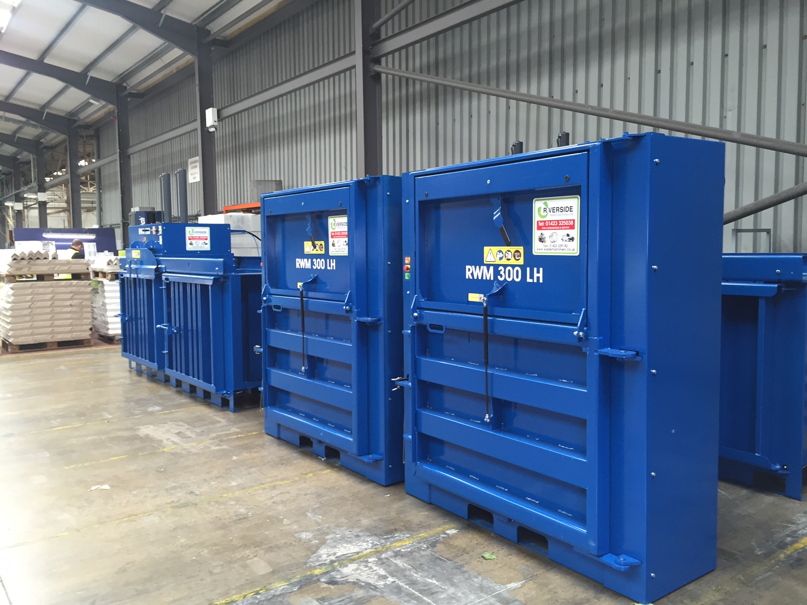 Riverside Waste Machinery's 300LH