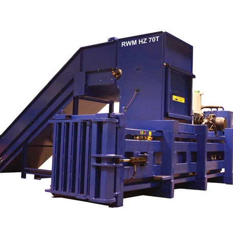 RWM HZ70 Horizontal Waste Baler