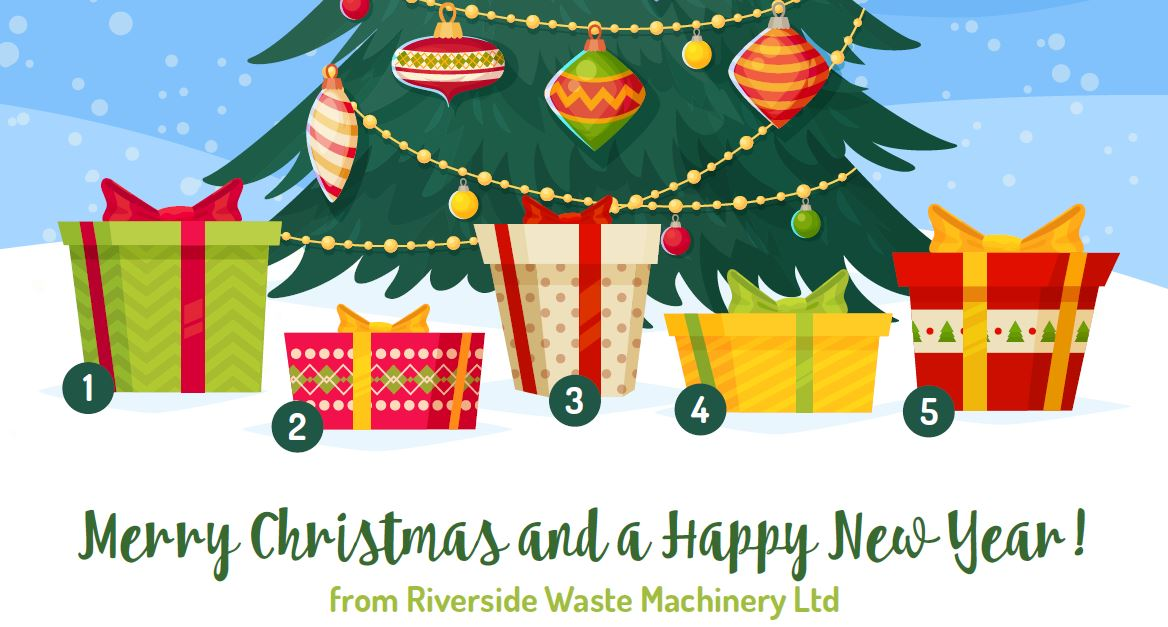 Christmas comes early for Riverside Waste Machinery customers