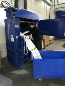 Baling at RR Flexo
