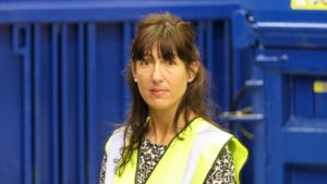 Sharon Draper, office administrator at Riverside Waste Machinery