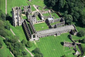 Riverside Waste Machinery has provided a baler to Fountains Abbey