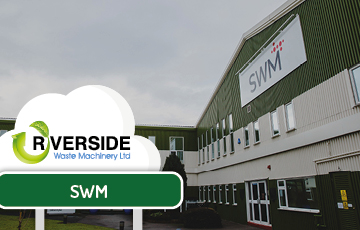 Global manufacturer SWM relies on Riverside for all waste equipment needs