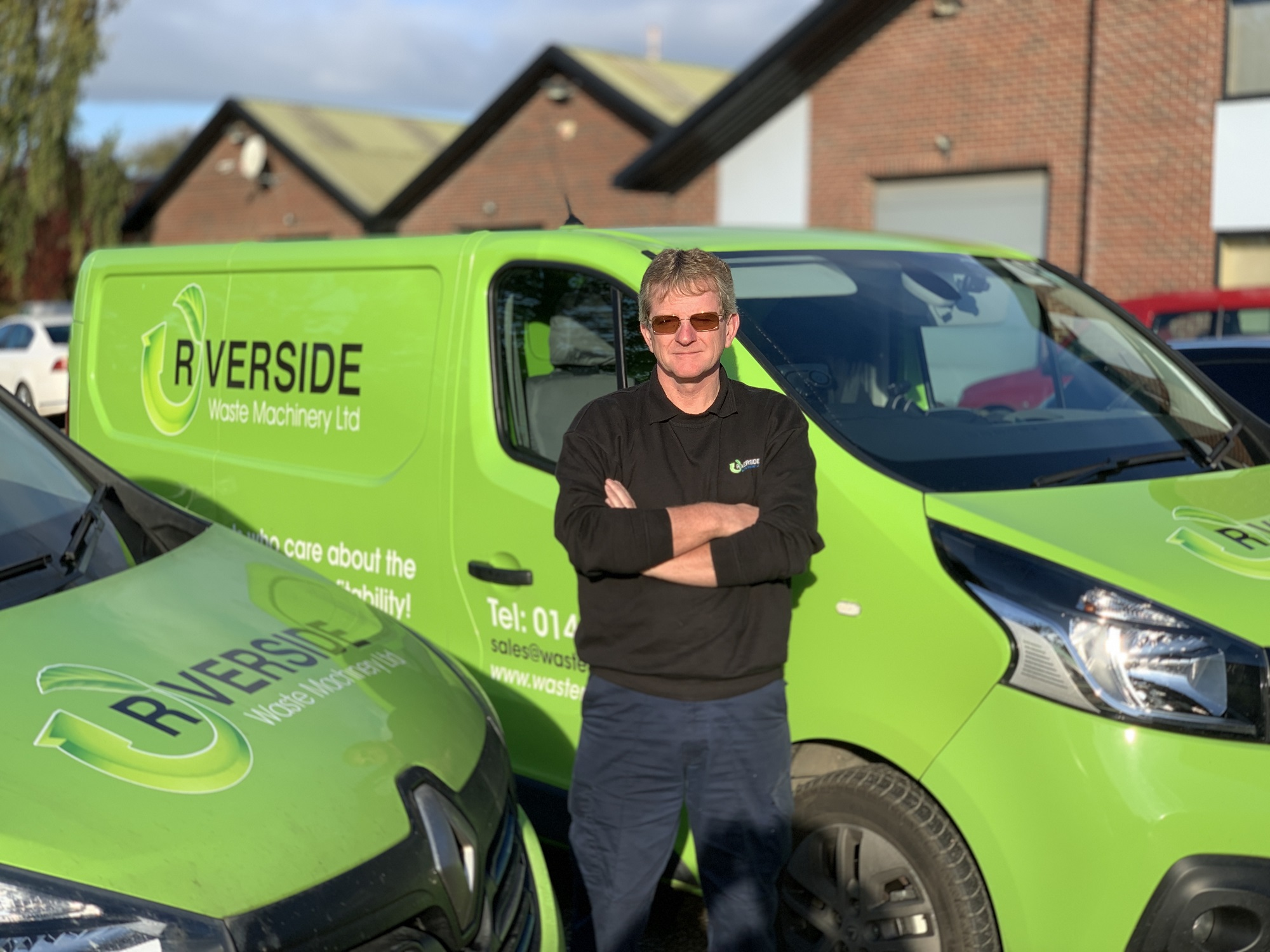 A huge Riverside welcome to our latest engineer