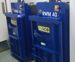 RWM waste balers