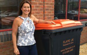 Pam Knight, Flame UK MD